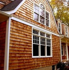 House Siding Options - 8 Excellent Exterior Materials - Bob Vila Wood Siding House, House Siding Options, Exterior Siding Options, Cedar Shingle Siding, Cedar Shake Siding, Cedar Shingles, Vinyl Siding, Siding Types, Exterior Solutions