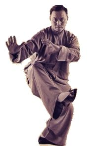 Yang Style Tai Chi Chuan  Turn Around and Slap-Kick  Grand Master Tung Hu Ling