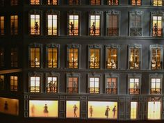 Most Amazing Doll Houses | Giant dollhouse – a mini replica of the façade of Christian Dior ...