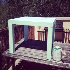 Color #mint de #autentico #chalkpaint #autenticopaint #cambiandoconcolor
