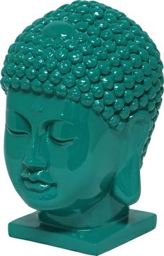 Thai Buddha Head - Emerald : Decorative Accents. Find all room accents and home accessories in one place. Urban Barn has hundreds of ideas  to compliment your decor.