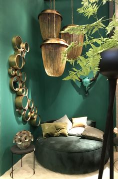 Styling ID bij Maison&Objet 2017 Aangenaam XL Marc Poldermans Living Room Green, Green Rooms, Home And Living, Living Room Decor, Bedroom Decor, Home Interior, Interior Decorating, Interior Design, Interior Inspiration