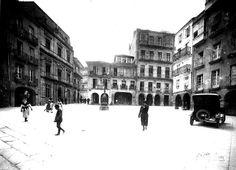 Praza da Constitución. 1930