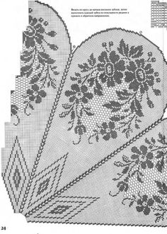 filet crochet tablecloth patterns free – Knitting Tips Crochet Tablecloth Pattern, Crochet Curtains, Crochet Doily Patterns, Thread Crochet, Crochet Designs, Crochet Stitches, Embroidery Patterns, Knitting Patterns, Crochet Round