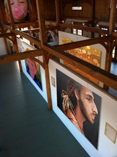 Wildbank Solo Art Exhibition at Jedediah Hawkins Luce Barn Gallery, May 25, 2012