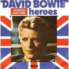 Heroes - David Bowie - Free Piano Sheet Music