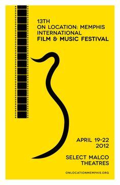 On Location: Memphis International Film & Music Fest 13 Poster Art