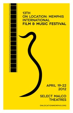On Location: Memphis International Film & Music Fest 13 Poster Art