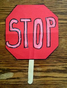 Stop Sign Safety Lesson