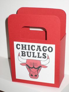 Image detail for -Chicago Bulls Favor Bags are perfect for any occasion!