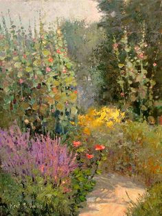 KENT R. WALLIS - Artist, Galleries in Carmel California- Jones/Terwilliger
