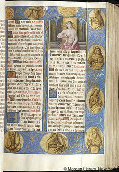 Breviary, M.463 fol. 54r - Images from Medieval and Renaissance Manuscripts - The Morgan Library & Museum