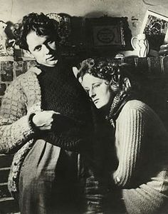 Dylan Thomas, with his wife Caitlin.