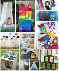 70+ HOMEMADE TOYS that you can make for your kids.  Perfect for Christmas and Birthdays - Happy Hooligans