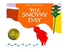 The Snowy Day story book at Teachers Choice in Brooklyn.