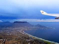 Flying out of Cape Town Africa Travel, Cape Town, Adventure Travel, Airplane View, Vietnam