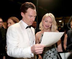 Pin for Later: Diese Bilder gab's nicht im TV zu sehen! Benedict Cumberbatch und Naomi Watts