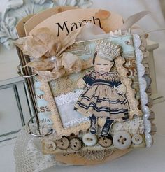 mini journal - does not link back to the original post, but I do love lilybeane