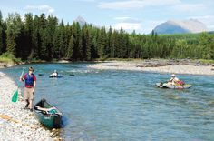 North Fork Flathead River: Floaters experience rare side of Glacier