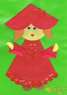 Czerwony Kapturek z origami