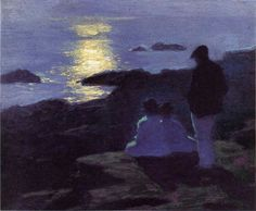 A Summer's Night, Edward Potthast