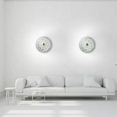 Applique murale Lunaire en cuivre éditée par Fontana Arte et