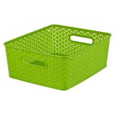 Room Essentials™ Y Weave Medium Storage Basket   Set Of 4