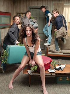 Weeds- been watching it since season 1, Nancy Botwin is my hero. If only we could be best friends :)