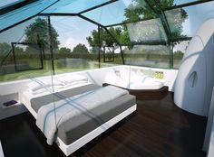 Photon Space: huis met glas