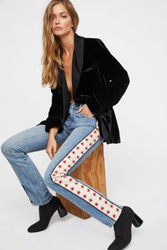 Shop our Seasonal Star Jean at Free People.com. Share style pics with FP Me, and read & post reviews. Free shipping worldwide - see site for details.