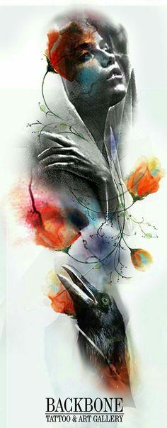realism tattoo design by Rainer Lillo Tattoo Sketches, Tattoo Drawings, Art Drawings, Tattoo Studio, Trash Polka Tattoo, Tattoo Project, Rabe, Chicano Art, Thrasher