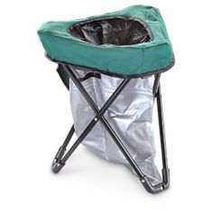 The Tri-To-Go portable toilet chair is ideal for tailgating. Easy to set up and and take down. When used with a privacy tent creates your own porta potty. camping packing tips, packing hacks camping, tent camping tips Camping Potty, Camping Table, Camping Chairs, Camping Stove, Family Camping, Tent Camping, Camping Gear, Outdoor Camping, Camping Bunk Beds