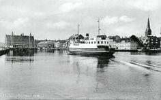"""Færgen Kronborg """"Klodshans"""" (1930erne)"""