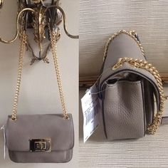 """I just added this to my closet on Poshmark: MICHAEL KORS SLOAN TAUPE BAG. Price: $125 Size: 8"""" x 6"""" x 2.5"""""""