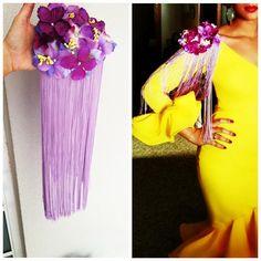 """34 Me gusta, 12 comentarios - Bolborette (@bolborette) en Instagram: """"Guapísima una de nuestras clientas con hombreras de flores y pedrería 🌸 No te quedes sin las…"""" African Accessories, Craft Accessories, Unique Fashion, Diy Fashion, Fashion Outfits, Flamenco Wedding, Farewell Dresses, Flamenco Skirt, Fiesta Outfit"""