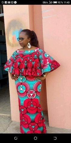 - Source by - Best African Dresses, African Traditional Dresses, Latest African Fashion Dresses, African Print Dresses, African Attire, African Print Dress Designs, African Print Clothing, African Blouses, Moda Casual