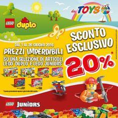 Passione #Lego?  Sì, ma noi pensiamo ai più piccoli!  Scopri la promozione su http://www.toyscenter.it/lego-duplo.html TOYSFORKIDS