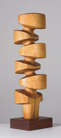 Mario Dal Fabbro ~ Wood sculpture