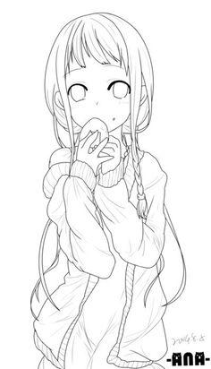 Anime Character Drawing, Anime Drawing Styles, Manga Drawing, Anime Lineart, Anime Chibi, Kawaii Anime, Chibi Coloring Pages, Cute Coloring Pages, Chibi Sketch