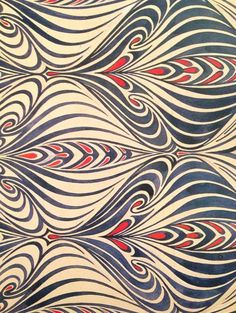 thishighway | patterntheory: [from a book on Art Nouveau]