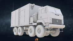 ArtStation - Russian Army S-400 Triumf [Growler] Command Post based on URAL-5323, Stanislav Boldienkov