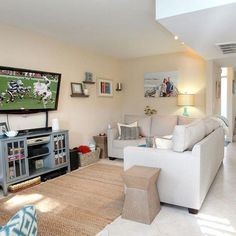 Our latest listing -- a 2 bedroom 2 bathroom #townhouse here in #SantaBarbara -- looks like a great setting for #SundayFootball this coming weekend. Plus, it's one mile to downtown Santa Barbara and one mile to the beach. If you want to make this home your own, give us a call at (805) 722-2531 #forsale