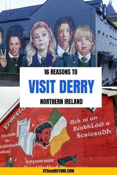 Dublin Travel, Europe Travel Tips, Ireland Travel, Travel Uk, Paris Travel, Travel Goals, Travel Guide, Travel Destinations, Derry Ireland