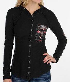 """Sinful Eloise Shirt"" www.buckle.com"
