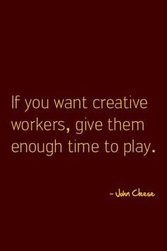 """An over-filled """"task work"""" schedule is not an atmosphere in which innovation and creativity can thrive. Great Quotes, Quotes To Live By, Me Quotes, Motivational Quotes, Inspirational Quotes, Creative Thinking, Design Quotes, True Words, Way Of Life"""