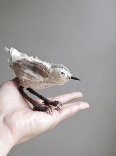 peace bringer / soft sculpture bird on Etsy, $89.00