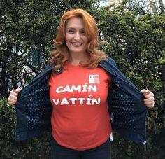 """ALESSANDRA LOFINO - Le T-shirt """"Camin Vattin"""" sono in vendita presso il negozio BIDONVILLE Via Melo 224 a Bari - tel. 080-9905699 (consegna in tutta Italia e all'Estero con spedizione postale)"""