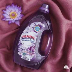 TANDIL mosószereinket megtalálod üzleteinkben! Cleaning Supplies, Fragrance, Soap, Bottle, Purple, Cleanser, Flask, Soaps, Perfume