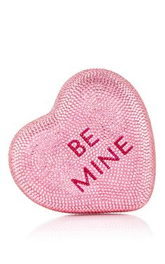 Be Mine XOXO Clutch by Judith Leiber for Preorder on Moda Operandi
