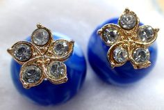 two sided earring  double ball earrings  stud by DanishDutchSupply